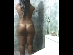 Indian Girl In Shower