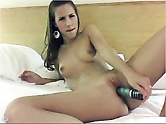 Webcam Teen Has Toy For Cunt