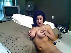 Groping Big Tits On Webcam
