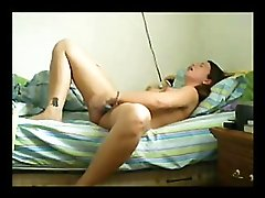 Girlfriend Caughted On Livecam Masturbating Her Bald Love Tunnel