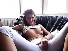 Horny Teen Fingering Under The Pants