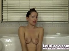 Lelu Love-saliva And Spit Play In Bathtub
