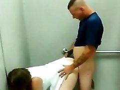 Doggystyle Quickie In The Changing Room