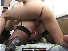 Try Anal Fisting - Bisex Ass Dildoing And Fisting