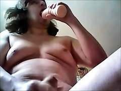 A Boy Who Like To Having Fun With His Toys ( Fleshlight And Butt Plug)