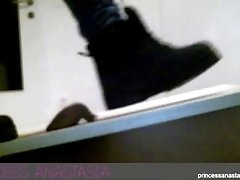 Fila Boot Cock Crush And Shoejob - Princess Anastasia