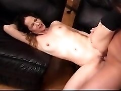 Amateur Couple Fucks On Couch