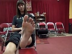 Cute Mixed Asian Feet